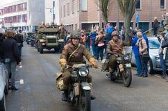 Militaire herinneringsparade Royalty-vrije Stock Fotografie