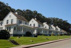 Militaire huisvesting stock afbeelding