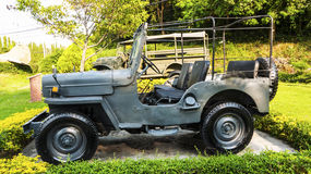 Militaire Jeep Stock Afbeelding