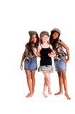 Militaire Jonge geitjes voor Vrede Royalty-vrije Stock Fotografie