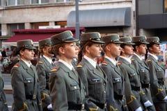 Militaire Kadetten Royalty-vrije Stock Afbeeldingen