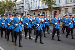 Militaire Kadetten Royalty-vrije Stock Foto's