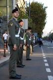 Militaire Kadetten Stock Foto