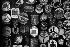 Militaire kentekens Royalty-vrije Stock Afbeeldingen