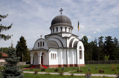 Militaire kerk in Targu Jiu Royalty-vrije Stock Foto's