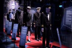 Militaire kledingsmarine royalty-vrije stock fotografie