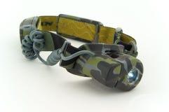 Militaire koplamp Royalty-vrije Stock Afbeeldingen