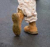 Militaire Laarzen Stock Foto
