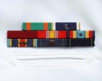 Militaire linten Royalty-vrije Stock Foto's
