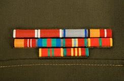 Militaire linten Stock Afbeelding