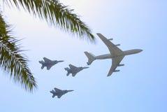 Militaire luchtvaart Royalty-vrije Stock Afbeeldingen