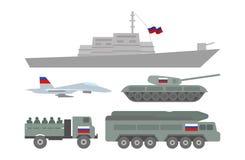 Militaire machinesillustratie Royalty-vrije Stock Fotografie