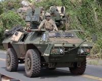 Militaire manoeuvres Stock Foto's