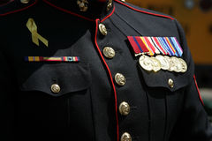 Militaire mens Stock Fotografie