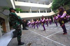 Militaire opleiding Royalty-vrije Stock Afbeelding