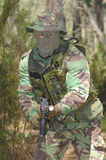 Militaire opleidingsgevecht Royalty-vrije Stock Fotografie