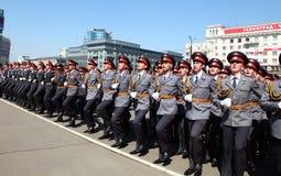 Militaire parade Stock Foto