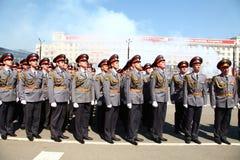 Militaire parade Royalty-vrije Stock Fotografie