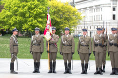 Militaire parade Stock Fotografie