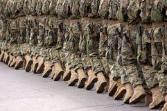 Militaire parade Royalty-vrije Stock Afbeeldingen