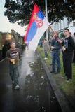 Militaire parade in BELGRADO Royalty-vrije Stock Fotografie