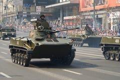 Militaire parade in Kiev stock fotografie