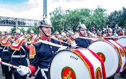 Militaire parade van de Onafhankelijkheid dag Colombia, C royalty-vrije stock fotografie