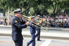 Militaire parade van Onafhankelijkheidsdag in Rio, Brazilië Royalty-vrije Stock Afbeeldingen