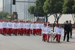 Militaire parade van Onafhankelijkheidsdag in Rio, Brazilië Royalty-vrije Stock Foto's