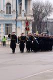 Militaire parade in Varna Stock Fotografie