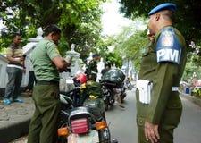 Militaire politie royalty-vrije stock fotografie