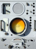 Militaire radar royalty-vrije stock fotografie