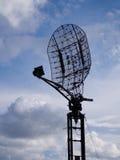 Militaire Radarantenne Royalty-vrije Stock Foto's