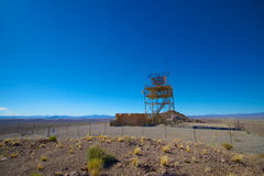 Militaire Radarinstallatie Royalty-vrije Stock Foto