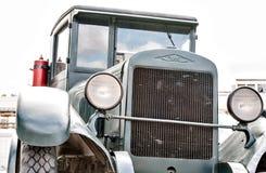 Militaire retro auto royalty-vrije stock foto's