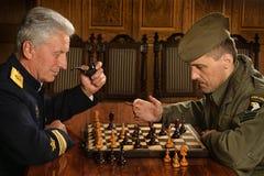 Militaire rijpe algemeen royalty-vrije stock fotografie
