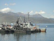 Militaire schepen Royalty-vrije Stock Afbeelding
