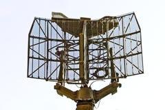 Militaire sensor die op wit wordt geïsoleerdw Royalty-vrije Stock Afbeelding