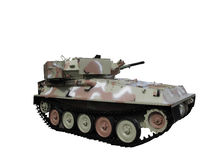 Militaire tank Royalty-vrije Stock Foto