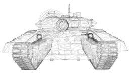 Militaire Tank Stock Foto's