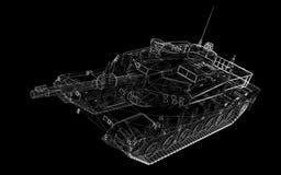 Militaire Tank Royalty-vrije Stock Foto's
