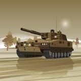 Militaire Tank vector illustratie