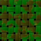 Militaire textuur op de achtergrond Geweven stof met een camouflagepatroon Terugkomend camouflagepatroon Stock Afbeeldingen
