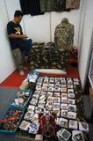 Militaire toebehoren Stock Foto