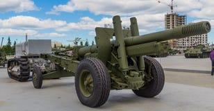 Militaire tractor van Stalinets Royalty-vrije Stock Afbeeldingen