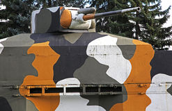 Militaire trein Royalty-vrije Stock Fotografie