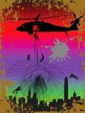 Militaire vector Royalty-vrije Stock Foto's
