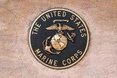 Militaire verbindings mariene korpsen stock afbeelding