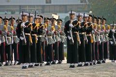 Militaire vertoning, Seoel, Zuid-Korea Stock Fotografie