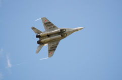Militaire vliegtuigen Stock Foto's